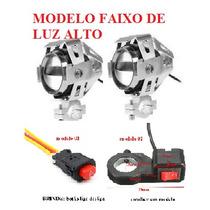 Kit Farol De Milha/neblina Moto Led Universal