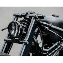 Grade Preta De Metal Para Farol Harley Davidson Sportster