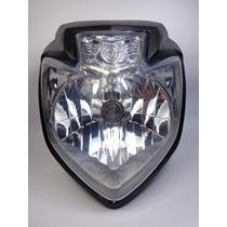 Farol Completo Com Lâmpada E Carenagem Yamaha Fazer 250 11