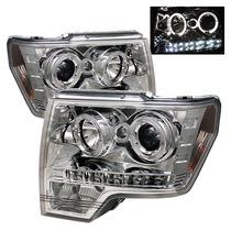 Tuning Imports Par De Farol Projector Drl Ford F150 09/13