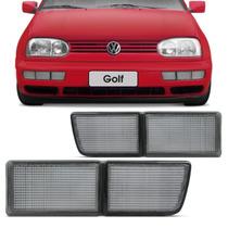 Aplique Do Para-choque Dianteiro Golf 95 96 97 98 Fumê