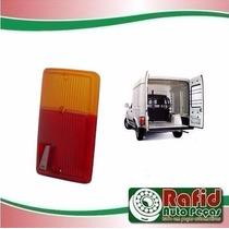 Lente Lanterna Traseira Fiat Pickup Fiorino Baú Furgão 83/85