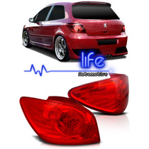 Lanterna Traseira Peugeot 307 07 08 09 10 11 12 Mod Original