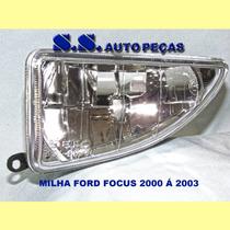 Milha Farol Auxiliar Ford Focus 98 00 2000 01 02 03 04