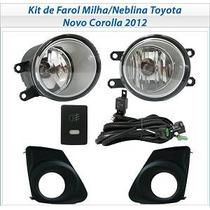 Kit De Farol De Milha Neblina Corolla 2012/2013/2014