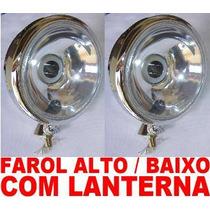 Kit Farol Principal Com Lanterna (show)buggy Off Road Tuning
