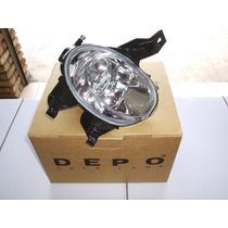 Farol Auxiliar Milha Peugeot 206 04 05 06 07 08 Bocão - Depo