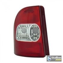 Lanterna Traseira Fiat Strada 01 A 03 Bicolor - Produto Novo
