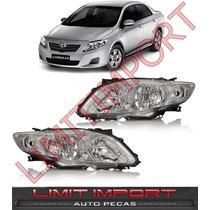 Par Farol Toyota Corolla Xli Xei Ano 2009 2010 2011