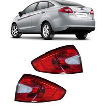Lanterna Traseira New Fiesta 12 13 14 Sedan Par
