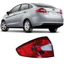 Lanterna Traseira New Fiesta 12 13 14 Sedan Esquerda