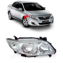 Farol Toyota Corolla Xli Xei Lado Direito Ano 2009 2010 2011