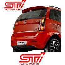 Lanterna Placa Traseira Fiat Idea Sporting - Original