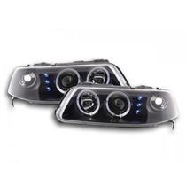Par De Farol Projector Angel Eyes Led Sonar Vw Gol G3 99/05