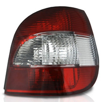 Lanterna Traseira Scenic - Vermelha/cristal 2001 À 2009 -