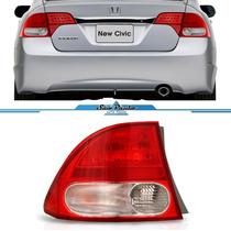 Lanterna New Civic 2007 A 2012 Canto Esquerdo Importada