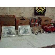 Fiat Pick Up Fiorino Elba 86 A 90 Conjunto Farois Lanternas