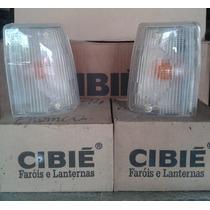 Lanterna Seta Pisca Fiat Uno Fiorino 84/90 Cristal Cibie Par