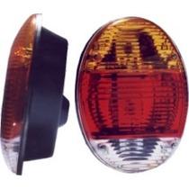 Lanterna Traseira Fusca Fafá Evolution Acrílico Tricolor