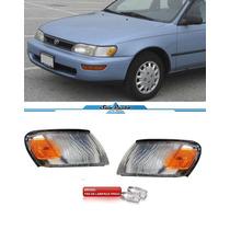 Par Lanterna Pisca Seta Corolla 1994 1995 1996 1997 + Brinde