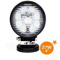 Farol De Milha Led 27w, 12v/24v Cree, Bar, Off Road