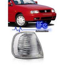 Lanterna Dianteira Pisca Polo Classic 96 97 98 99 Cristal Vw