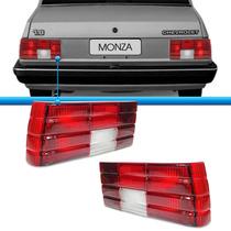 Par Sinaleira Traseira Monza 82 83 84 Bicolor Novo