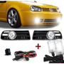 Kit Farol Auxiliar Golf Sapao 99 A 06 + Kit Xenon H3 6000k