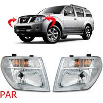 Par Farol Nissan Pathfinder 2006 2007 2008 2009 2010 Cromado