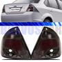 Lanterna Fiesta Sedan 2011 2012 2013 11 12 13 Fume Acrilico