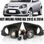 Farol Milha Ford Ka 2012 / 2013 / 2014 Botão Original + Lamp
