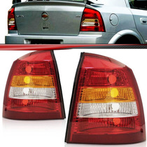 Lanterna Astra Hatch 98 99 00 2001 02 Tricolor Cristal Le