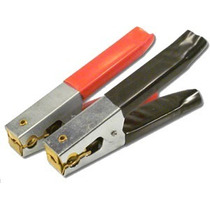 Garra Bateria Grande 5 125mm 100 Amperes Reforcada Atx