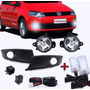 Kit Farol Auxiliar Fox 2010 2011 2012 2013 + Kit Xenon 8000k