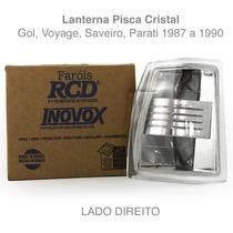 Pisca Gol Parati Saveiro Voyage Quadrado 87 A 90 Cristal Ld