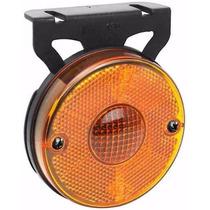 Lanterna Lateral Caminhão Led Gf127 Randon Suporte Flexível