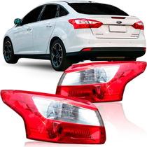 Lanterna Traseira Focus Sedan 2013 2014 2015
