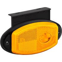 Lanterna Lateral Caminhão Led Bivolt C Refletivo E Suporte