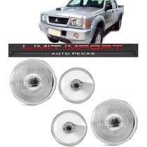 Par Farol + Milha L200 Ano 1999 2000 2001 2002 2003 2004