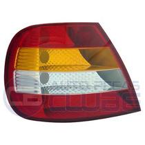 Lanterna Tras Fiat Siena 01 A 03 Carcaça Vermelha Le Arteb