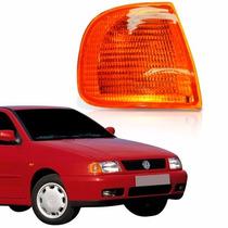 Lanterna Dianteira Pisca Polo Classic 97 Até 2000 Ambar