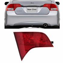 Lanterna New Civic 2007 2008 2009 2010 2011 Traseira Mala Le