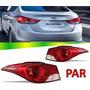 Par Lanterna Traseira Hyundai Elantra 2012 2013 2014 2015