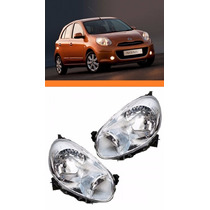 Farol Nissan March 2010 2012 Nodo O Par