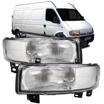 Farol Renault Master 2003 2004 2005 2006 2007 2008 2009