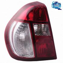 Lanterna Traseira Bicolor: Clio Sedan 2005 Até 2013 Zeene