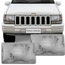 Farol Grand Cherokee 93 94 95 96 97 98 Foco Simples Jeep