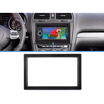 Moldura Painel Dvd 2 Din Golf Polo Bora Ecosport Fiesta Fox