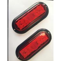 2 Lanterna Led Carreta Carretinha Reboque A Prova D