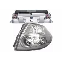 Lanterna Traseira Ford Ka 2008 A 2013 Cristal Lado Direito